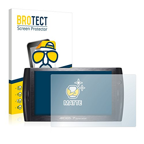 BROTECT Protector Pantalla Anti-Reflejos Compatible con Archos 7 Home Tablet (2 Unidades) Pelicula Mate Anti-Huellas
