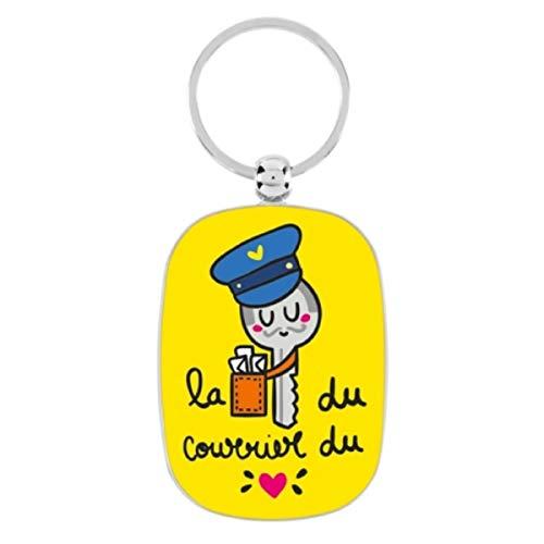 Porte-clés OPAT La clé du courrier - Derrière la porte
