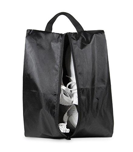 HAUPTSTADTKOFFER – Packhilfe – Reise-Schuhtasche, Reißverschlusstasche, Organizer Tasche für Hemden, Schuhe, Packbeutel, Schuhbeutel ideal für Sport oder zum Reisen, Reisetasche, 23 cm