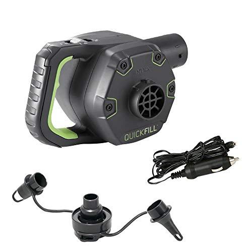 Intex Bomba Electrica Quick Fill Recargable 220-240v + Adap 12v