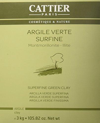 Cattier - Argilla verde finissima, 3 kg