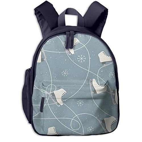 Kinderrucksack Kleinkind Jungen Mädchen Kindergartentasche Schnee Eislaufschuhe Winter Backpack Schultasche Rucksack
