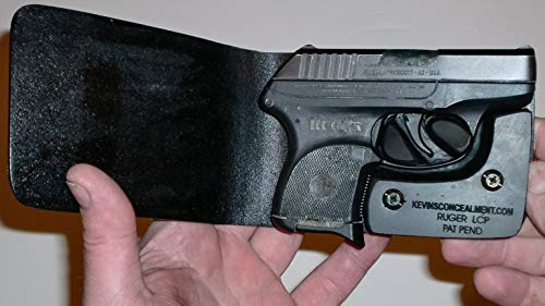 Wallet Holster for Full Concealment - Ruger LCP (Black, Right Hand)