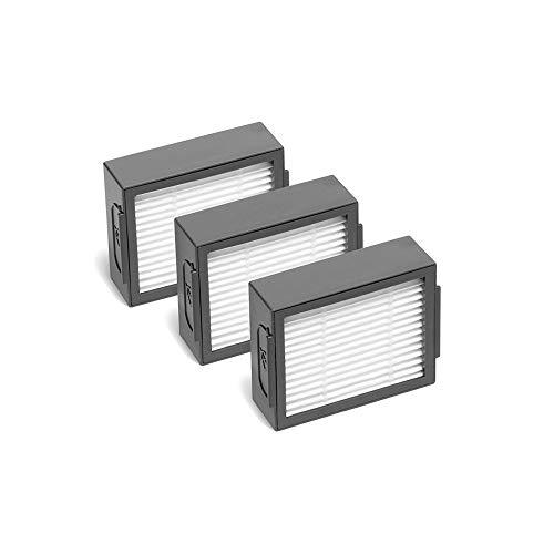 MIRTUX Pack 3 filtri per Roomba E5   i7. KIT RICAMBI FILTRO E5 E6 i7 i7+ PLUS Ricambio di sostituzione con tre filtri hepa.
