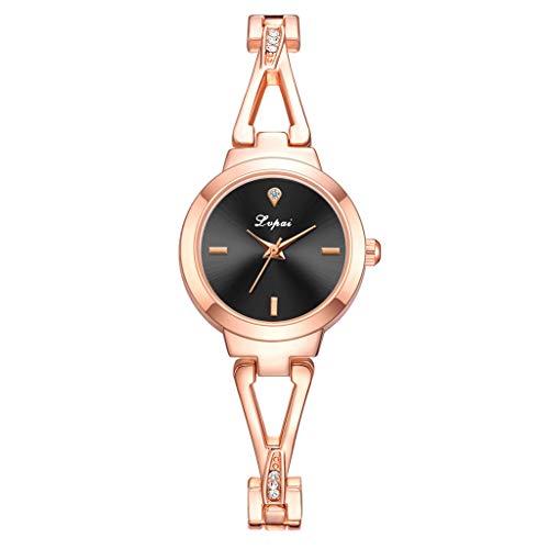 Einfach Damen Armbanduhr Mit 4 Stunden Zifferblatt Anker Uhrenmarke Drehbarer Ring LüNette Drehen Zifferblatt Armbanduhr Hochwertig Frauen Brand Beobachten Armband