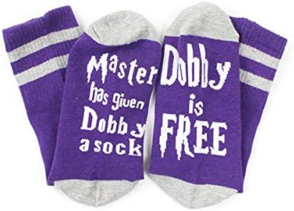 I Love You Like cadeau fantaisie cadeau danniversaire chaussettes pour ventilateur Dobby Loves Socks