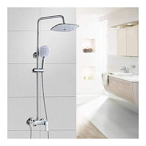 HYY-YY handdouche badkamer regendouche hoofd systeem schuiven doucherail set, eenvoudige installatie (douchecabine en douchekraan Type : douche)