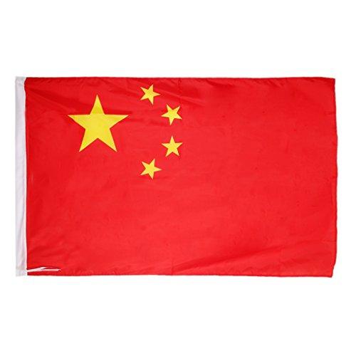dailymall Flagge Fahne China 144 * 96CM Chinesische Flagge Länderflaggen Banner