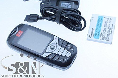 Siemens CX65 Handy Farbdisplay Kamera schwarz silber NEU - ohne OVP