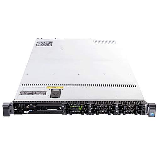 "Dell PowerEdge R610 2 X Intel 6Core Processor E5645 (12 m Cache, 2.67 GHz) 32GB DDR3 REG, HDD 2 X 600GB SAS 2.5 "", Rack 1U, 4 X lan1000, perc6i Raid Controlador (reacondicionado Certificado)"