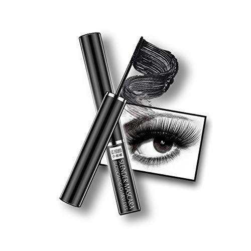Cocohot Fine Mascara Noir - Mascara Mince, Naturel, Dense, Doux, Délicat, Imperméable et Résistant à la Sueur