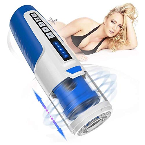 PFMY.DG Männlicher M-asturbator Cup, E-rotikSexspielzeug Saugen USB Aufladbar Vakuum Komplett Automatisch Elektrischer Cup-M-asturbator