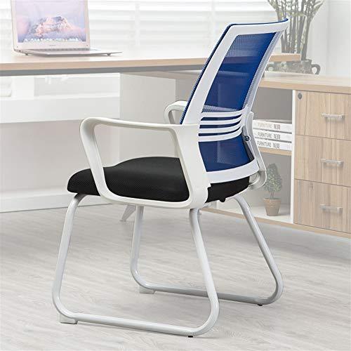 Silla de oficina silla plegable silla de comedor c Creativa nórdica respirable Estilo Escritorio Silla Multifuncional simple silla de la computadora moderna adapta for el estudio de ventanilla de Inic