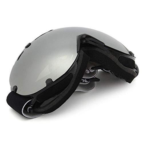 RongDuosi Universele skibril, dubbele lens, spiegel, snowboard, outdoor, sportbril, winddicht, anti-uv-zilver, motorfietsonderdelen