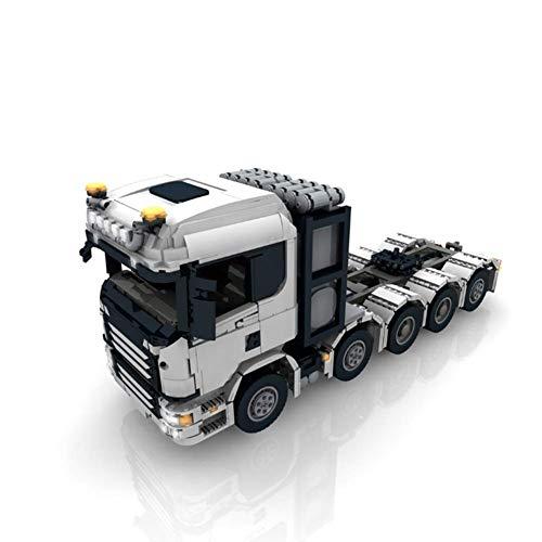 FFCVTDXIA 3931 PC Baustein Scania Truck, Technic Super Racing RC Car Kit, Modellbausteine, kompatibel mit, Ziegeln für Erwachsene oder Kind, dynamische Version zhihao (Color : Static Version)