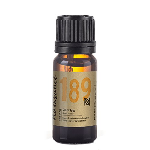 Naissance Clary Sage Essential Oil (no. 189) 10ml - Pure, Natural, Cruelty...