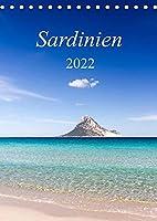 Sardinien / CH-Version (Tischkalender 2022 DIN A5 hoch): Europas Perle (Monatskalender, 14 Seiten )