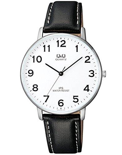 Q&Q Analog White Dial Men's Watch - QZ00J304Y