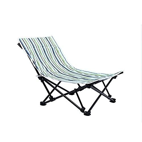 Sillas de jardín Plegables cómodas tumbonas Ajustables tumbonas Barato jardín Muebles de Playa sillas de Playa Baja Plegable Ligero Acampada sillas de Camping
