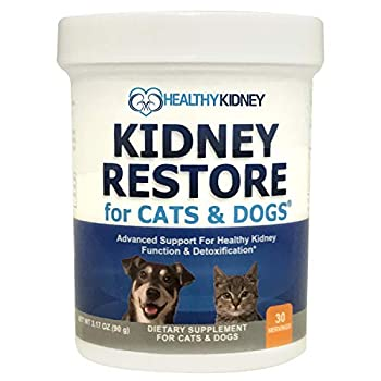 Cat and Dog Kidney Support Natural Renal Supplements to Support Pets Feline Canine Healthy Kidney Function and Urinary Track Essential for Pet Health Pet Alive Easy to Add to Cats and Dogs Food