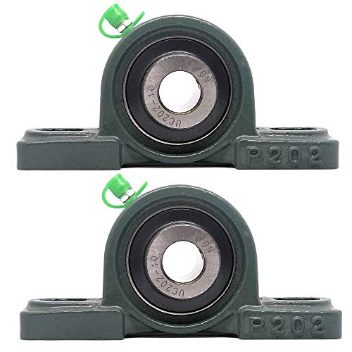 PGN - UCP202-10 Pillow Block Mounted Ball Bearing - 5/8