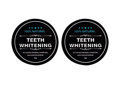 2x Carbon Coco Aktivkohle Zahnpolitur Whitening Zahnpasta weiße Zähne Zahncreme