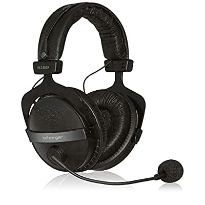 Behringer HLC 660M Headphones with Built-in Microphone for Multiple Uses by Music Tribe