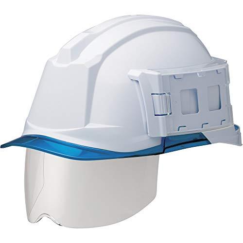 ミドリ安全 ヘルメット 一般作業用 電気作業用 IDケース付 スライダー面 SC-19PCLS-ID RA3 αライナー付 ホワイト ブルー