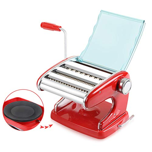 OGORI Pasta Maker Machine Stainless Steel Manual Pasta Roller Cutter Noodle Makers