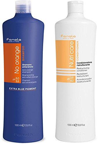 Fanola No Orange and Conditioner Package (1000 ml)