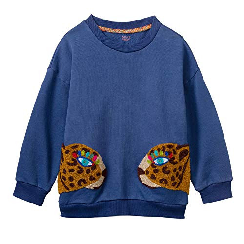 Oilily Mädchen Sweat-Shirt Houble-104 - Kindermode : Mädchen