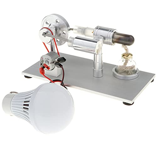 lahomia Generador de Electricidad Física Modelo de Motor Stirling