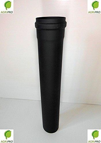 Tubo scarico fumi Diametro 80 CM 50 per stufa a pellet canna fumaria