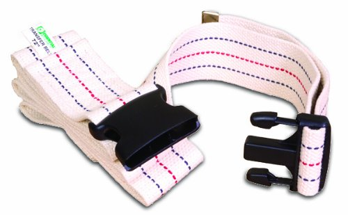 Essential Medical Supply Gait Belt with Plastic Buckle, 54 Inch