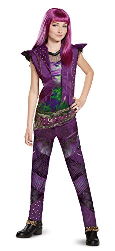 Disney Mal Classic Descendants 2 Costume, Purple, Small (4-6X)