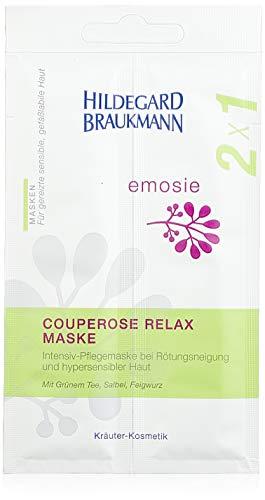 Hildegard Braukmann Emosie Couperose Relax Maske 12 x 14ml Multi-Pack, 1er Pack (1 x 12 Stück)