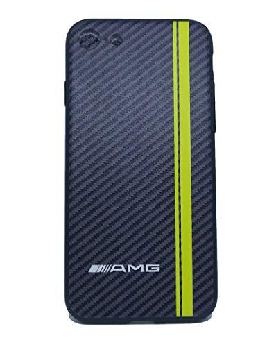 TPV Custodia Cover in Silicone AMG Custodia per Cellulare Effetto Fibra di Carbonio iPhone 7/8/ SE 2020