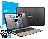 Notebook Asus Vivobook Portatile Pc Display da 15.6' Cpu Intel Dual Core Fino a 2.60Ghz /Ram 4Gb...