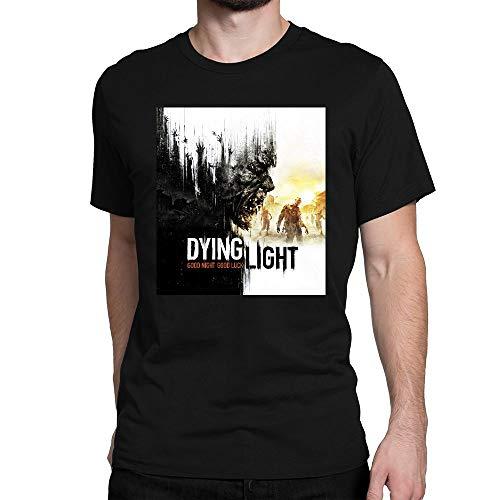 YIHAOWEIYE Herren Classic Dying Light Poster T-Shirt Tee Tops
