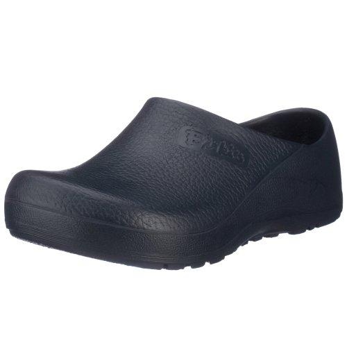 Birki Profi Birki 074071, Unisex - Erwachsene Clogs & Pantoletten, weites Fußbett, PU, blau (Blue), EU 45