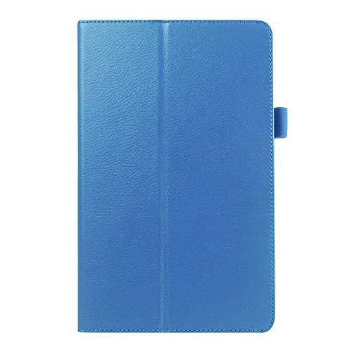 Cubierta de la Caja de Cuero PU para Samsung Galaxy Tab A 6 A6 7.0 2016 T280 SM-T280 T280N T285 T281 Caja de la Caja de la Tableta-Cielo Azul