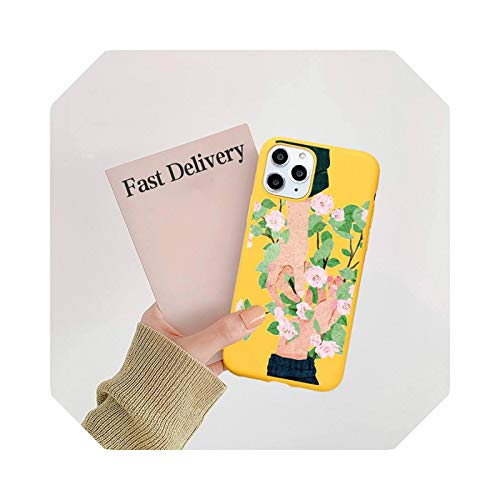 Hand Hold Hands Love Beautiful Phone Case Candy Color for iPhone 11 12 Mini Pro XS Max 8 7 6 6S Plus X se 2020 XR-A5 for iPhone 6 Oro 6s