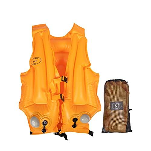 hgni Unisex Life Chalets Inflable Vida Jacket Chaleco Adultos Pesca CHEQUES DE Pesca para EL Kayaking Snorkeling Life DE LA Vida DE LA VIDAJE DE LA VIDAJE DE LA VIDAJE para Adultos para