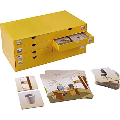 HABA 133781 Picture Cards  Box, Sprache, Kommunikation, sozial-emotionale Fähigkeiten, für Kinder, Zu Hause