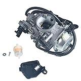 J1KUZHE Carburetor Compatible For ATV Honda TRX500 Carburetor 2009, Foreman 500 TRX500TM 2005-2006, TRX500FE TRX500FM 2005-2011, TRX500FPE 2007-2011 and TRX500FPM 2008-2011 Carburetor Carb