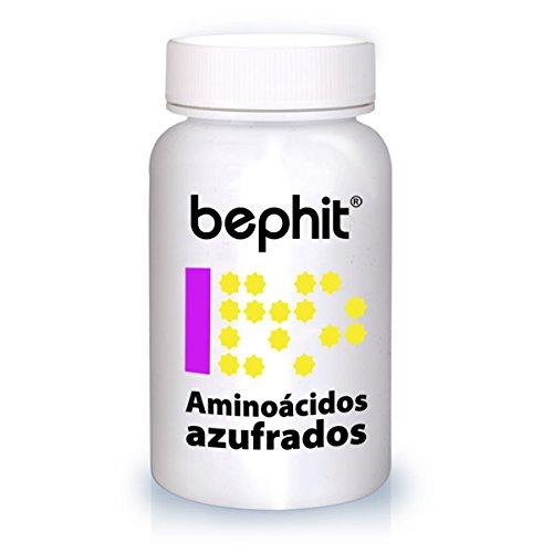 AMINOÁCIDOS AZUFRADOS (L-Metionina + L-cisteina) BEPHIT - 30 cápsulas 745 mg
