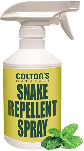 Snake Repellent Spray 32 OZ Spray 100% Natural Deterrent Outdoor or Indoor Venomous and Non Venomous Snakes