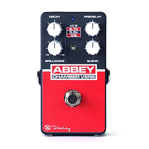 Keeley Abbey Verb Chamber Reverb Effects Pedal