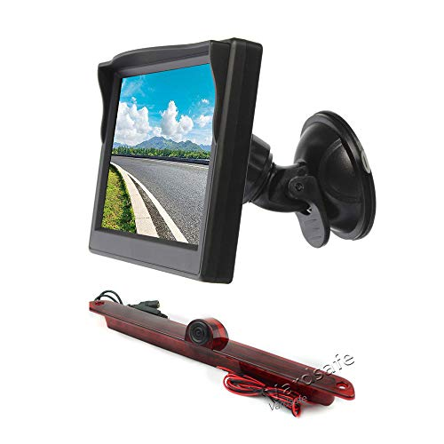Vardsafe VS705S Kompakte Parkkamera und Saugnapf Rückansicht Bildschirm Display für MB Dodge Sprinter Van