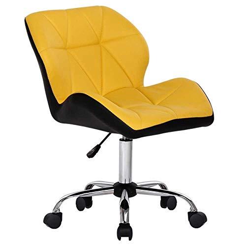 HJJK Sillas de ocio sillas de oficina silla giratoria ajustable for el ordenador Heiht Mueble de casa 360 ° Rotación durable fuerte